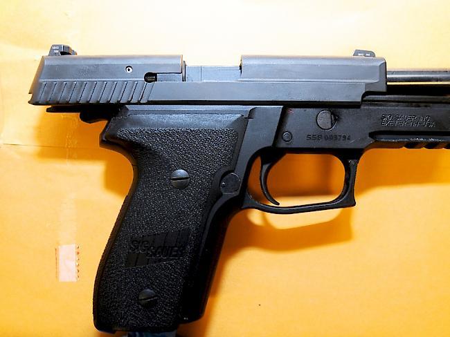 pistole am kopf