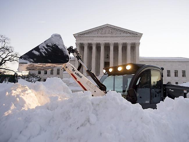 Schneesturm In Washington
