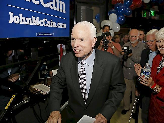 John McCain: Der alte Krieger STERNde