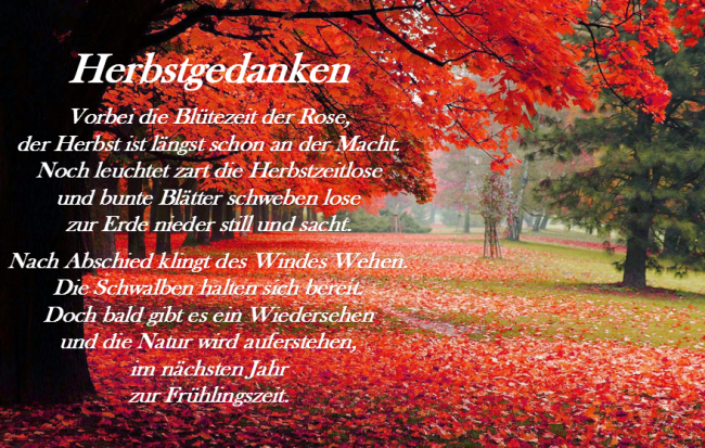 Stichwort Herbsttag 1815 Ch