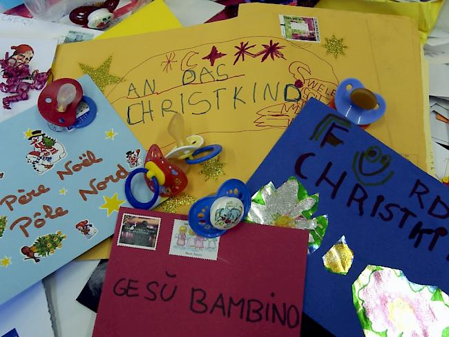 Briefe An Kinder Zu Weihnachten : Schweizer quot christkind hat über briefe an kinder