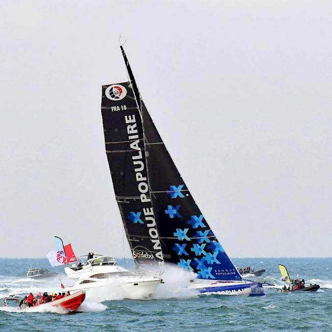 Le cl ac 39 h gewinnt die vend e globe in rekordzeit - Aurelie le cleac h ...