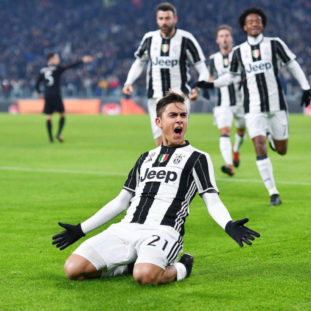 Juventus turin nach sieg ber milan im cup halbfinal for Tabelle juventus turin