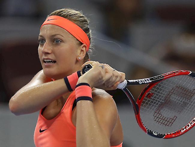 Kvitova vier Monate nach Messer-Attacke wieder im Training ...
