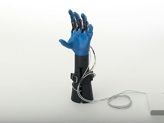 forscher stellen handprothesen f r kinder aus dem 3d drucker vor. Black Bedroom Furniture Sets. Home Design Ideas