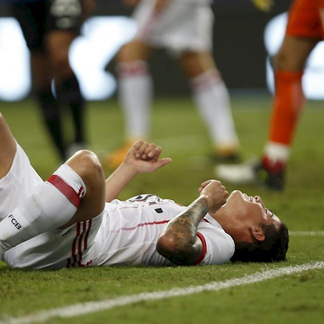 James Rodriguez Verletzt