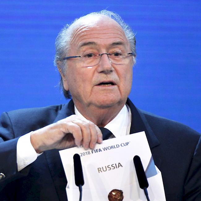 Fifa komplott gegen sepp blatter vermutet for Spiegel nachrichtenmagazin