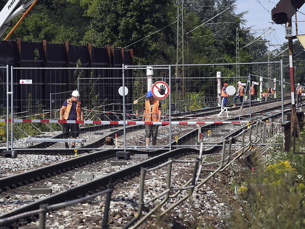 Rheintalstrecke Aktuell