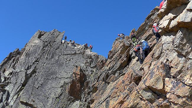 Klettersteig Schwierigkeitsgrad : C privat penken klettersteig am knorren m