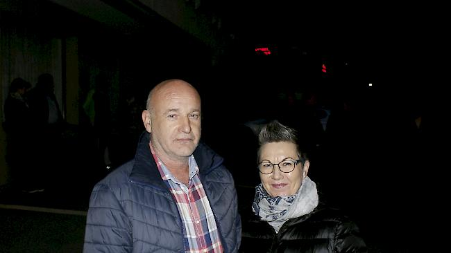 Willy Pfammatter (58) und Anni Pfammatter (56), Naters.
