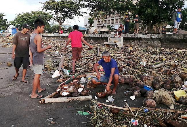 Taifun Auf Den Philippinen