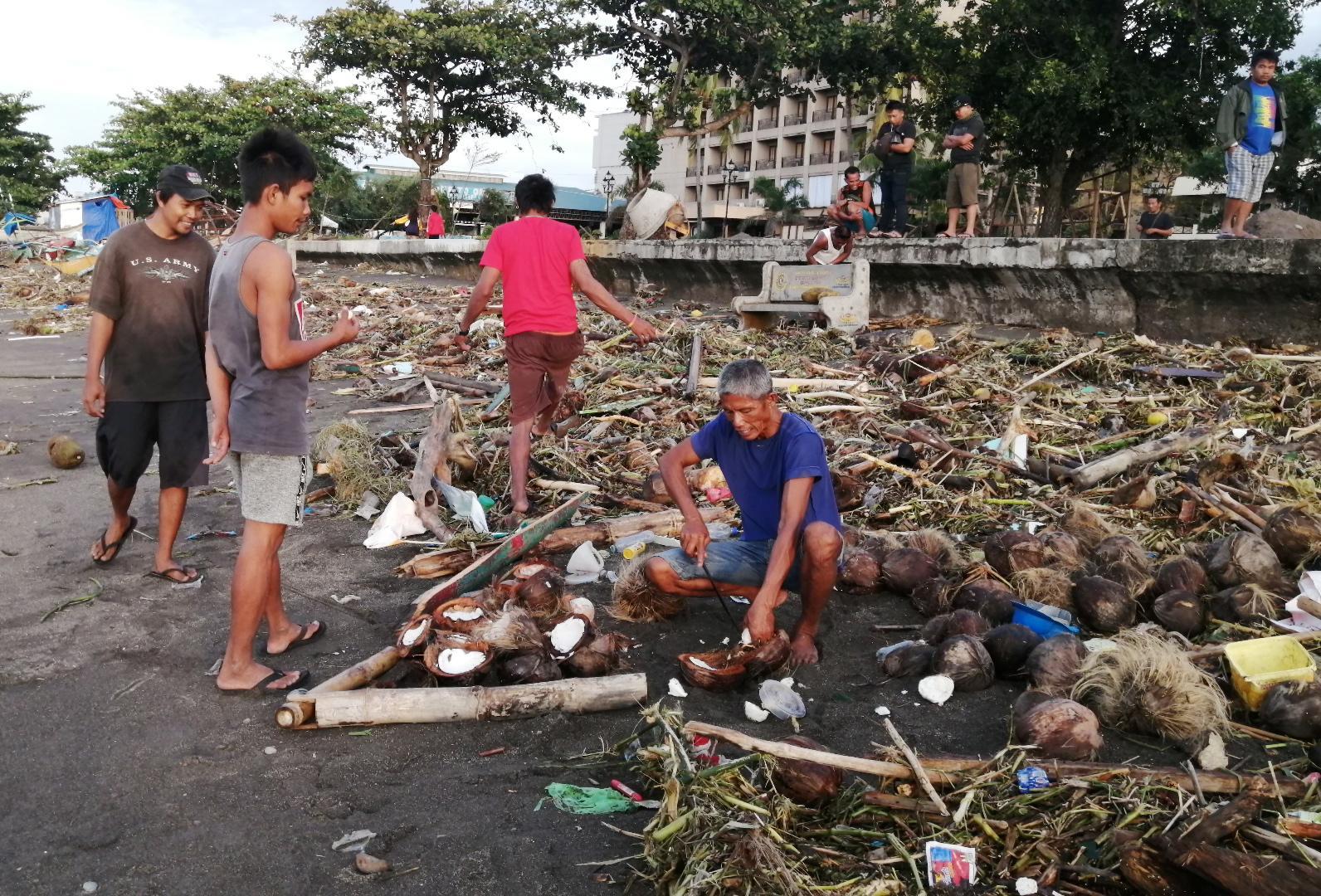 Philippinen Taifun